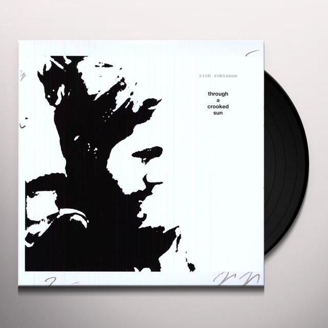Rich Robinson THROUGH A CROOKED SUN Vinyl Record - 180 Gram Pressing