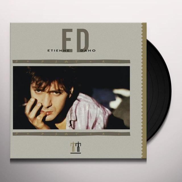 Étienne Daho POP SATORI (GER) Vinyl Record - Remastered