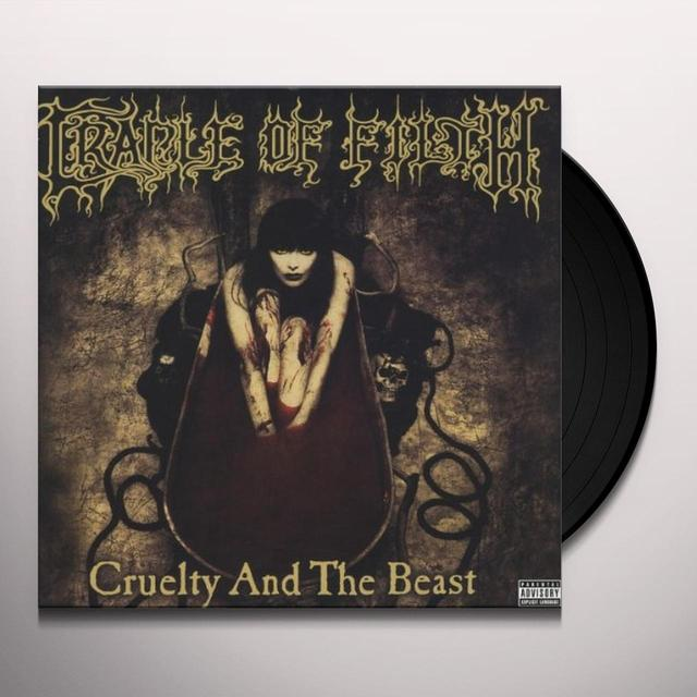 Cradle Of Filth CRUELTY & THE BEAST (OGV) (Vinyl)