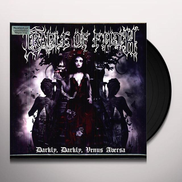 Cradle Of Filth DARKLY DARKLY VENUS AVERSA Vinyl Record - 180 Gram Pressing