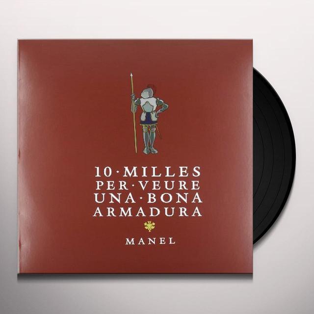 Manel 10 MILLES PER VEURE UNA BONA ARMADURA Vinyl Record
