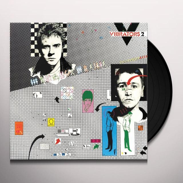 The Vibrators V2 Vinyl Record