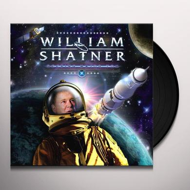 William Shatner SEEKING MAJOR TOM Vinyl Record