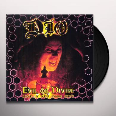 Dio EVIL OR DIVINE: LIVE IN NEW YORK CITY Vinyl Record