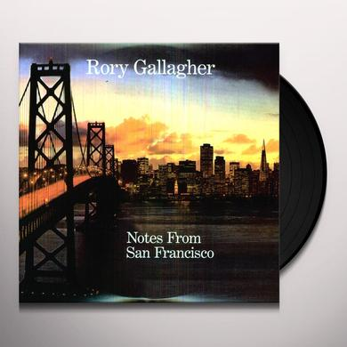 Rory Gallagher NOTES FROM SAN FRANCISCO Vinyl Record - Digital Download Included