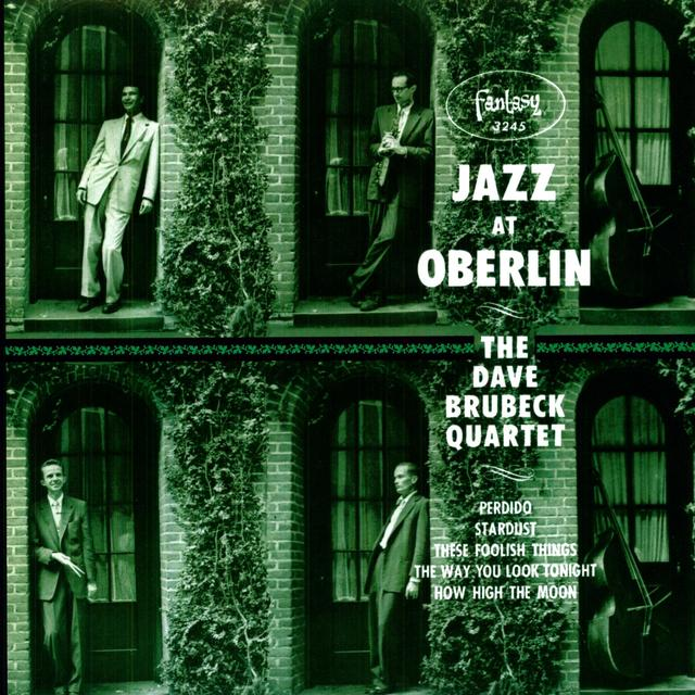 Dave Brubeck JAZZ AT OBERLIN Vinyl Record