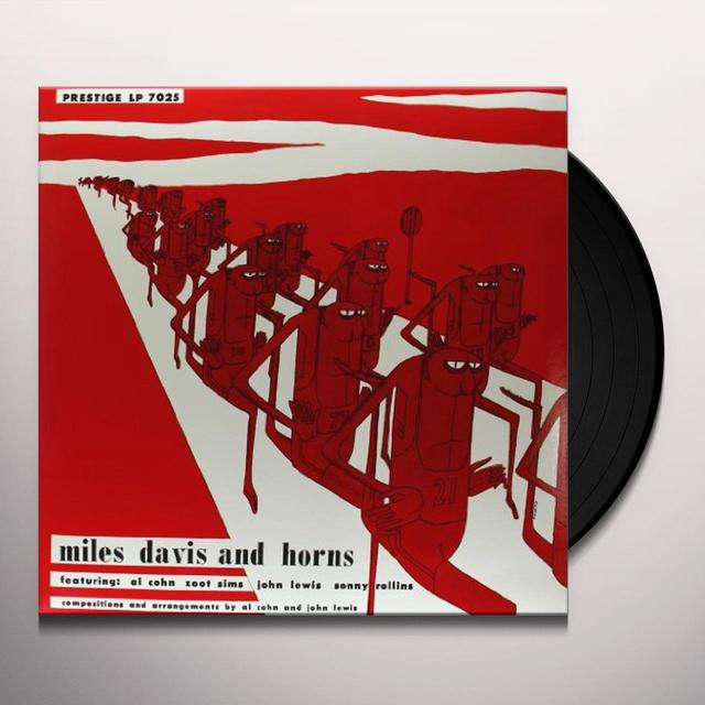 MILES DAVIS & HORNS Vinyl Record