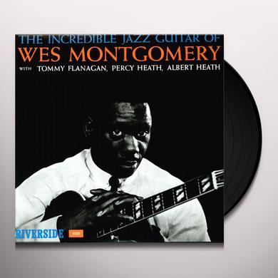 Wes Montgomery INCREDIBLE JAZZ GUITAR Vinyl Record