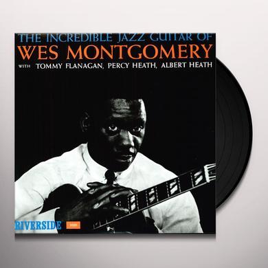 Wes Montgomery INCREDIBLE JAZZ GUITAR Vinyl Record