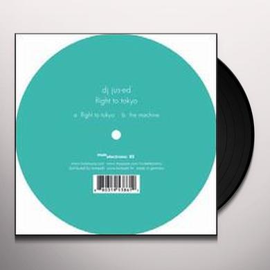 Jus-Ed FLIGHT TO TOKYO Vinyl Record