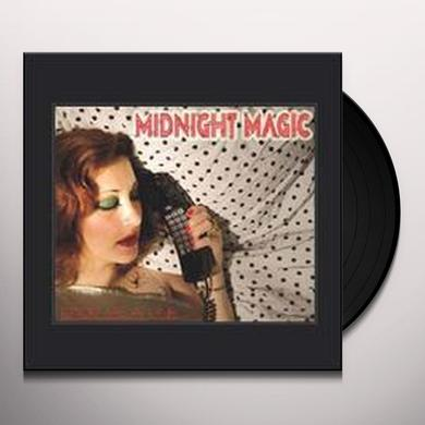 Midnight Magic DROP ME A LINE Vinyl Record