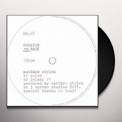 Matthew Styles SAMPLE & HOLD (EP) Vinyl Record