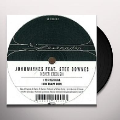 Johnwaynes NEVER ENOUGH (EP) Vinyl Record