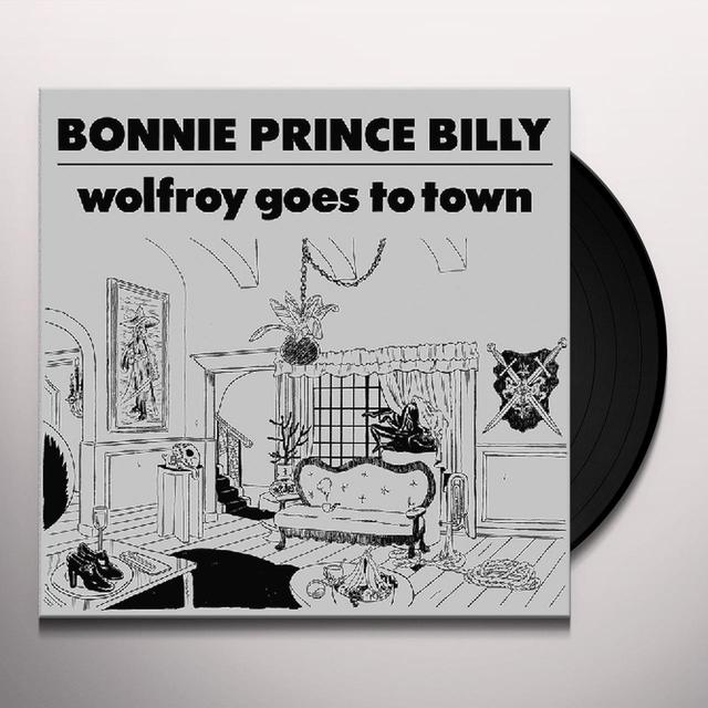 """Bonnie """"Prince"""" Billy on Spotify WOLFROY GOES TO TOWN Vinyl Record"""