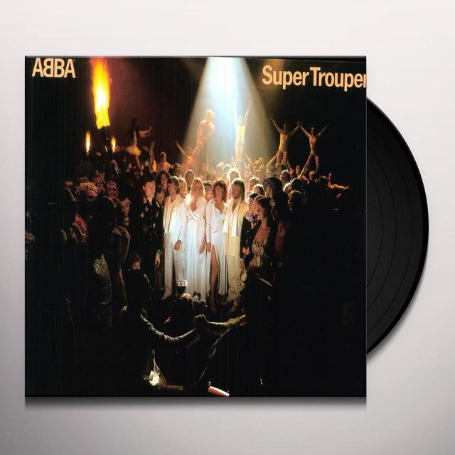 Abba SUPER TROUPER Vinyl Record