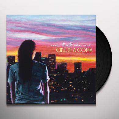 Girl In A Coma EXITS & ALL THE REST Vinyl Record