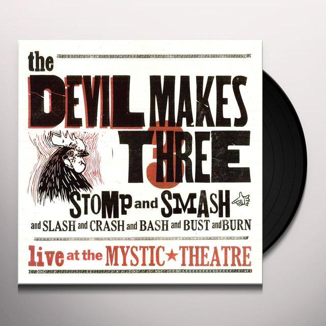 Devil Makes Three STOMP & SMASH Vinyl Record