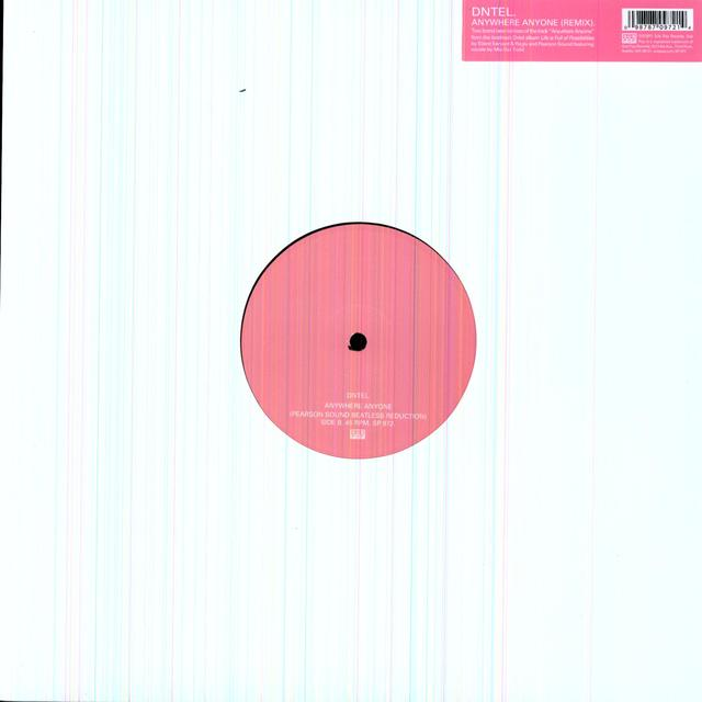 Dntel ANYWHERE ANYONE Vinyl Record - Limited Edition, Digital Download Included