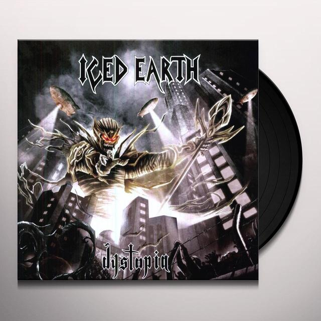 Iced Earth DYSTOPIA Vinyl Record - Limited Edition