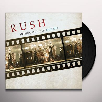 Rush MOVING PICTURES: LIVE 2011 Vinyl Record