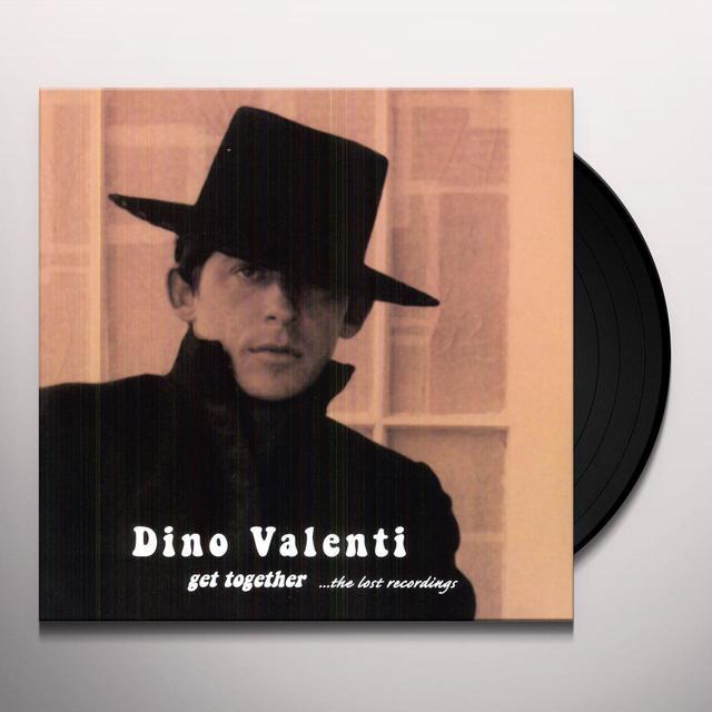 Dino Valenti GET TOGETHER Vinyl Record - 180 Gram Pressing