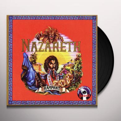 Nazareth RAMPANT Vinyl Record