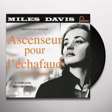 Miles Davis ASCENSEUR POUR L'ECHAFAUD Vinyl Record - Holland Import