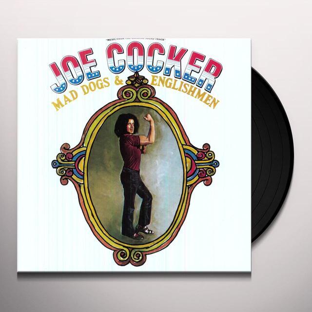 Joe Cocker MAD DOGS & ENGLISHMEN Vinyl Record - 180 Gram Pressing