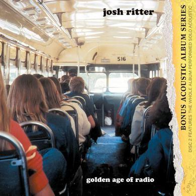 Josh Ritter GOLDEN AGE OF RADIO Vinyl Record