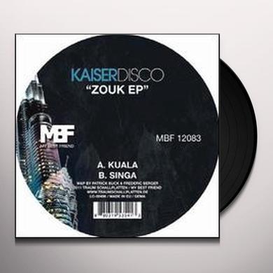 Kaiserdisco ZOUK (EP) Vinyl Record