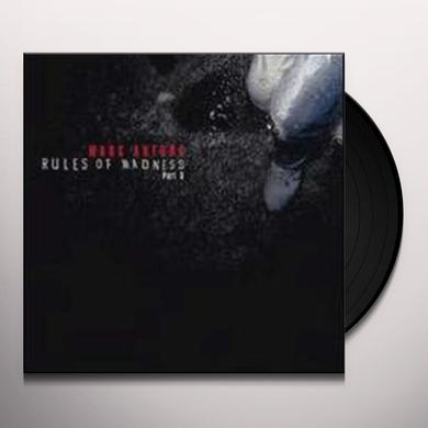 Marc Antona RULES OF MADNESS PART 3 (EP) Vinyl Record