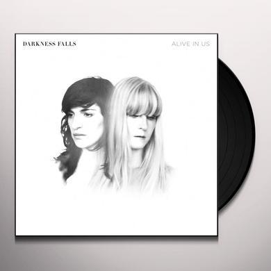 Darkness Falls ALIVE IN US Vinyl Record