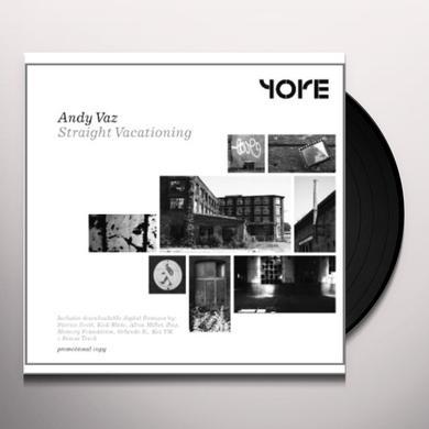 Andy Vaz STRAIGHT VACATIONING Vinyl Record