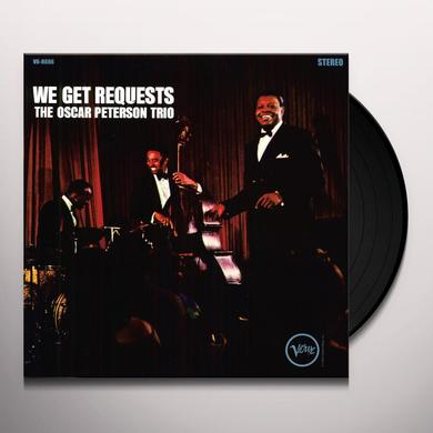 Oscar Peterson WE GET REQUESTS Vinyl Record