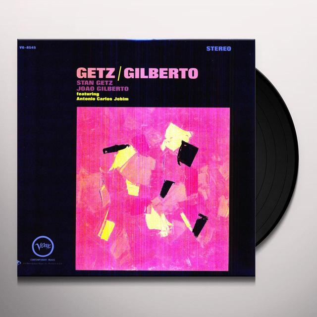 Stan Getz & Joao Gilberto GETZ & GILBERTO Vinyl Record