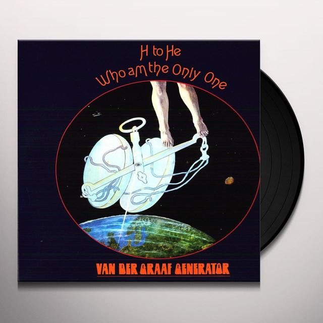 Van Der Graaf Generator H TO HE WHO AM THE ONLY ONE Vinyl Record - Gatefold Sleeve, 180 Gram Pressing