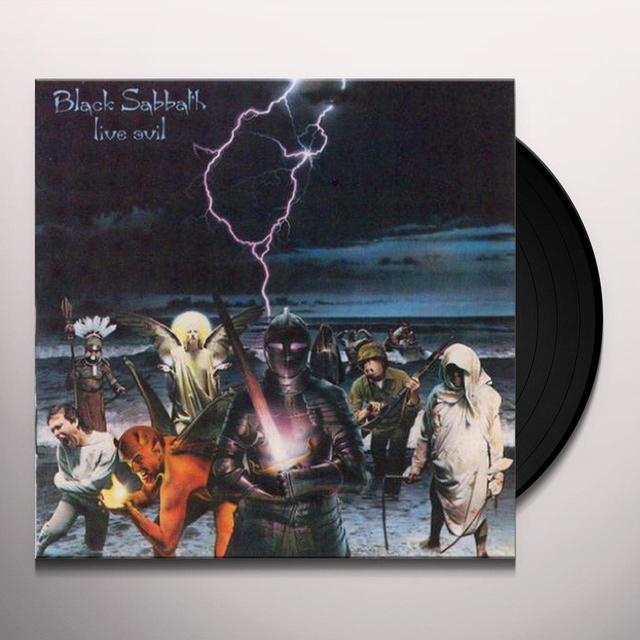 Black Sabbath LIVE EVIL Vinyl Record