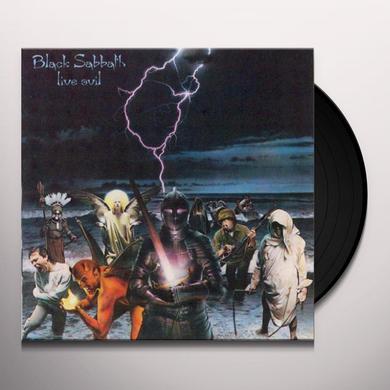 Black Sabbath LIVE EVIL Vinyl Record - 180 Gram Pressing