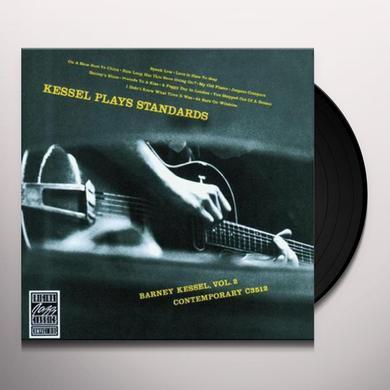 Barney Kessel KESSEL PLAYS STANDARDS Vinyl Record