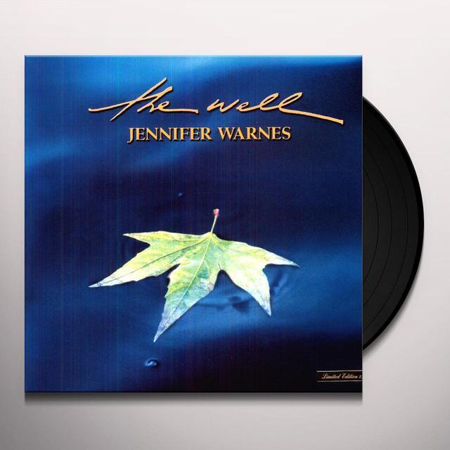 Jennifer Warnes WELL Vinyl Record - Limited Edition, 180 Gram Pressing