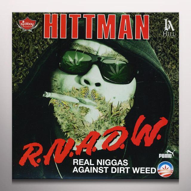 Hittman LAST DAYS / BLAAOW Vinyl Record - Limited Edition, Clear Vinyl