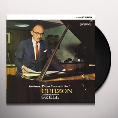 Brahms / Curzon / London Sym Orch PIANO CONCERTO 1 Vinyl Record