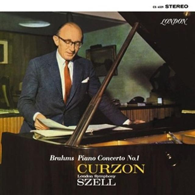 Brahms / Curzon / London Sym Orch PIANO CONCERTO 1 Vinyl Record - Limited Edition