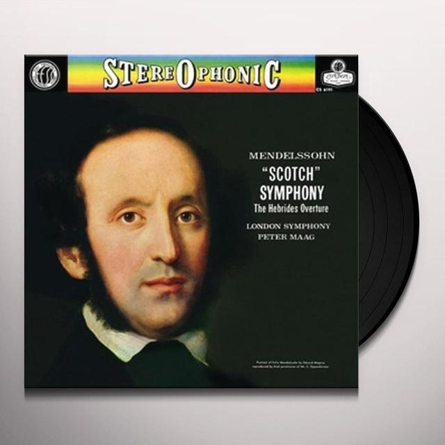 Mendelssohn / Maag / London Sym Orch SYMPHONY 3 SCOTCH SYMPHONY Vinyl Record - Limited Edition