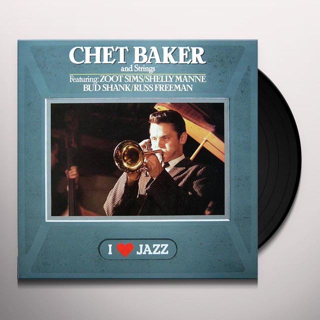 CHET BAKER & STRINGS Vinyl Record - 180 Gram Pressing