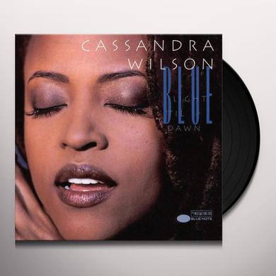 Cassandra Wilson BLUE LIGHT TIL DAWN Vinyl Record