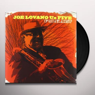 Joe Lovano FOLK ART Vinyl Record