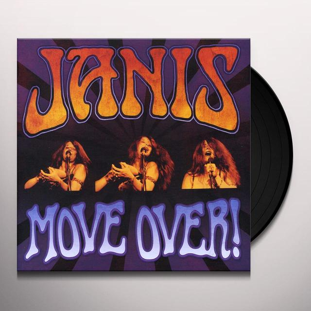Janis Joplin MOVE OVER Vinyl Record - Limited Edition