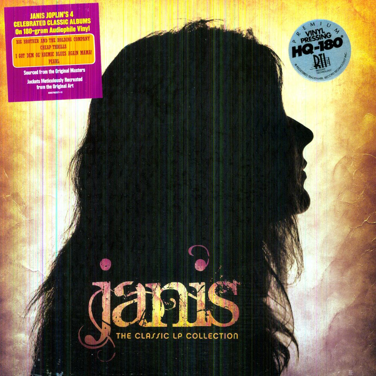Janis Joplin CLASSIC LP COLLECTION Vinyl Record