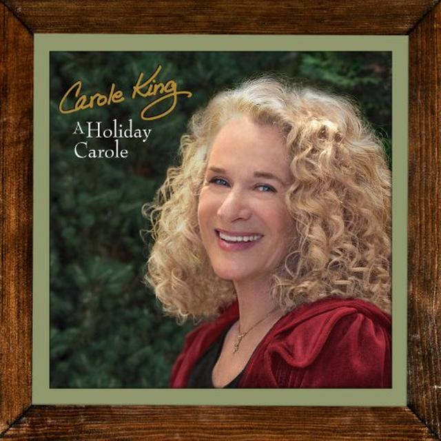 Carole King HOLIDAY CAROLE Vinyl Record